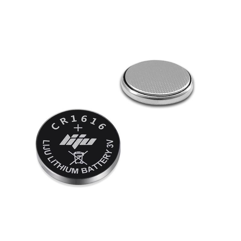 3.7V锂锰扣式电池LIR1616